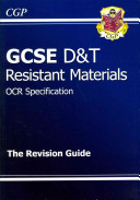 GCSE Design and Technology Resistant Materials OCR Revision Guide