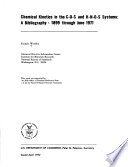 Chemical Kinetics in the C O S and H N O S Systems