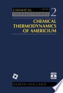 Chemical Thermodynamics of Americium