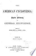 The American Cyclopaedia book