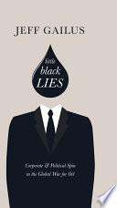 Little Black Lies book