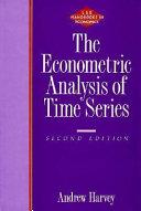 The Econometric Analysis of Time Series