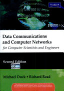 Data Communications And Computer Networks  For Computer Scientists And Engineers  2 E