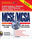 Mcse Mcsa Implementing A Windows Server 2003 Network Infrastructure Study Guide Exam 70 291