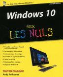 Windows 10 pour les Nuls  2e