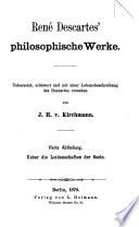 René Descartes' philosophische Werke