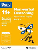Bond 11   Non Verbal Reasoning  Assessment Papers