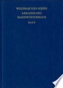 Akkadisches Handwörterbuch