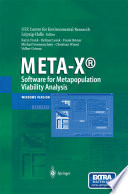 META-X®-Software for Metapopulation Viability Analysis Teachers And Researchers To Perform A