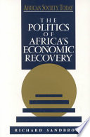 The Politics of Africa s Economic Recovery