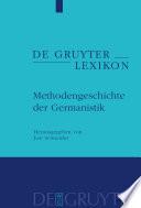 Methodengeschichte der Germanistik