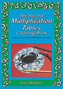 The Second Multiplications Tables Colouring Book