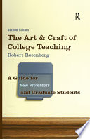 The Art And Craft Of College Teaching Second Edition