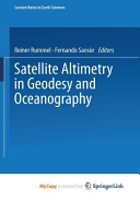 Satellite Altimetry In Geodesy And Oceanography book