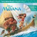 Moana Read Along Storybook   CD