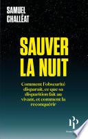 Sauver la nuit Couverture du livre