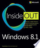 Windows 8 1 Inside Out