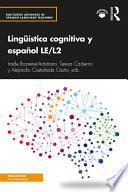 Ling Stica Cognitiva Y Espa Ol Le L2