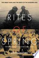 Rites Of Spring : discusses the premiere of stravinsky's...