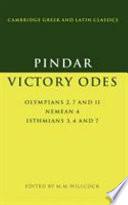 Pindar  Victory Odes