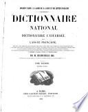 Dictionnaire national ver dictionnaire universel de la langue fran  aise