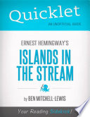 download ebook quicklet on ernest hemingway's islands in the stream (cliffnotes-like summary, analysis, and review) pdf epub