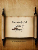 Book The wonderful world of poetry