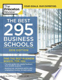 The Best 295 Business Schools  2016 Edition