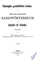 Philosophie geschichtliches Lexikon