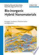 Bio inorganic Hybrid Nanomaterials