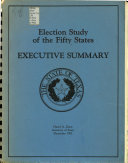Election Study of the Fifty States