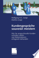 Kundengespr Che Souver N Meistern