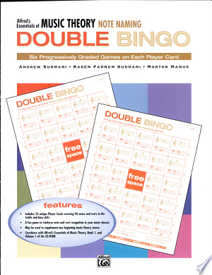 Essentials of Music Theory: Note Naming Double Bingo - ISBN:9780739018729