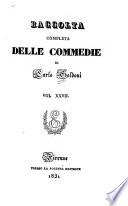 Raccolta completa delle commedie di Carlo Goldoni