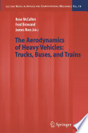 The Aerodynamics of Heavy Vehicles  Trucks  Buses  and Trains