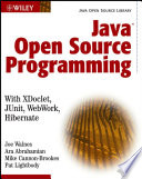 Java Open Source Programming