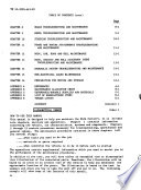 Technical Manual, Maintenance Instructions, Organizational Maintenance