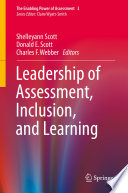 Leadership Of Assessment Inclusion And Learning