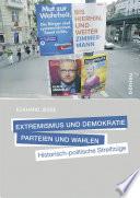 Extremismus und Demokratie, Parteien und Wahlen