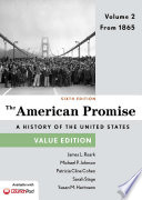 The American Promise  Value Edition  Volume 2