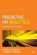 Predictive HR Analytics