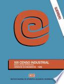 Guerrero  XIII Censo Industrial  Resultados definitivos  Censos Econ  micos 1989