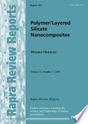 Polymer layered Silicate Nanocomposites