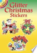 Glitter Christmas Stickers