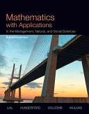 Mathematics with Applications in the Management  Natural  and Social Sciences with MyMathLab Access Card Package