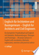 Englisch f  r Architekten und Bauingenieure   English for Architects and Civil Engineers