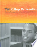College Mathematics for the Managerial  Life  and Social Sciences