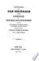 Giornale di scienze morali  legislative ed economiche