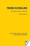Tense in English