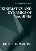 download ebook kinematics and dynamics of machines pdf epub